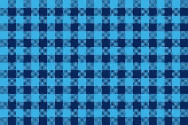 Sfondo blu check senza soluzione di continuità