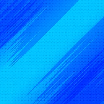 Disegno di stile blu vuoto di stile del fumetto
