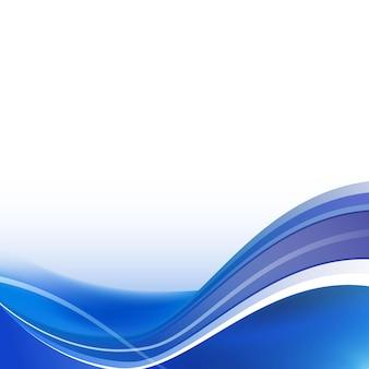 Sfondo astratto curva blu