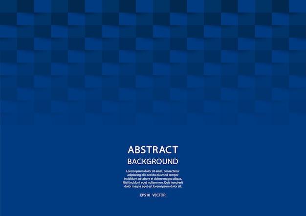 Sfondo geometrico blu. disegno astratto 3d