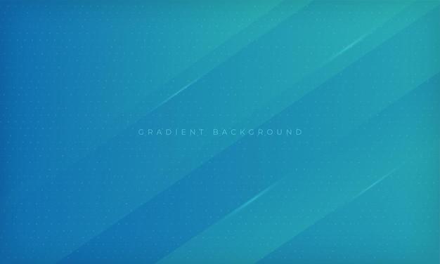 Modello di progettazione geometrica moderna di sfondo dinamico sfumato blu