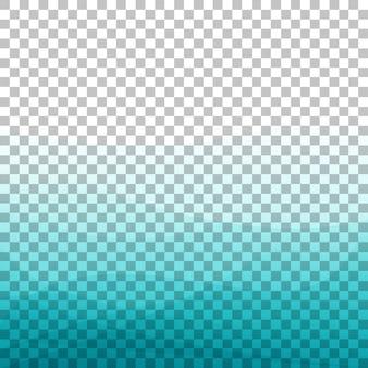 Sfondo di onda blu gradiente