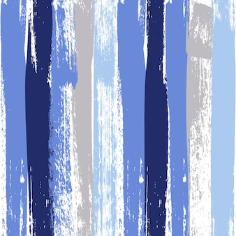 Reticolo senza giunte del tratto di pennello di colore pastello blu e grigio