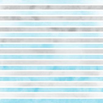 Motivo a strisce blu grigio e bianco