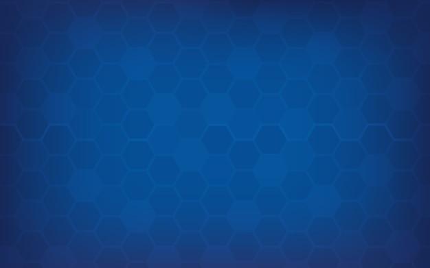 Fondo astratto blu del favo.