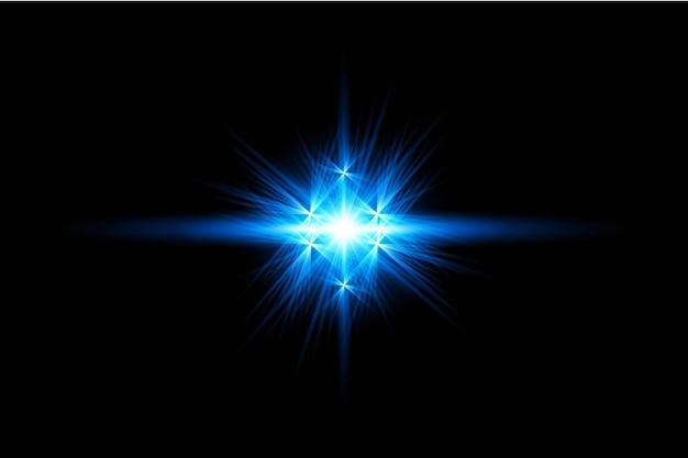 Riflessi lenti blu