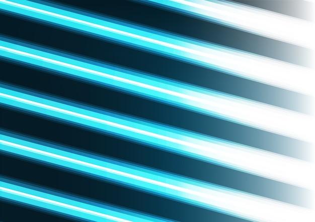 Sfondo di linea luce blu al neon