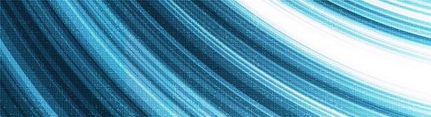 Tecnologia d'ondeggiamento della velocità della luce blu