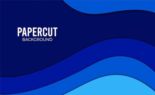 Carta blu taglia lo sfondo.