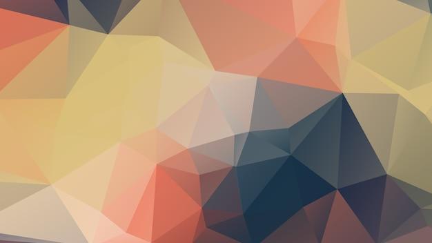 Progettazione del fondo del poligono di colore morbido blu e rosa, stile geometrico astratto di origami