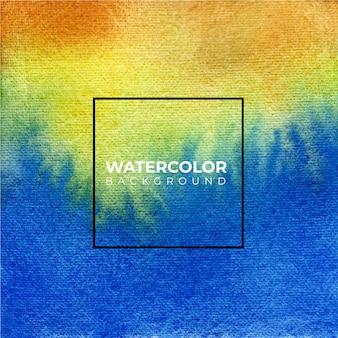 Pittura dell'acquerello bianco blu e viola su struttura di carta.