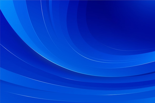 Sfondo ondulato sfumature blu