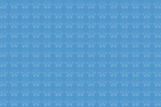 Sfondo modello fiocco di neve blu