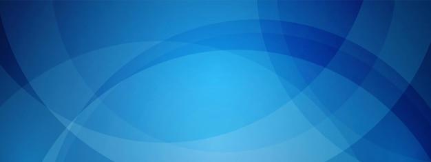 Tecnologia blu design dell'onda cerchio sovrapposto concetto di comunicazione di sfondo della rete digitale