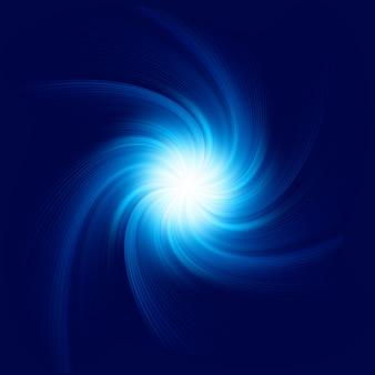 Sfondo blu a spirale. file incluso