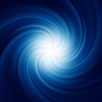 Sfondo blu a spirale.