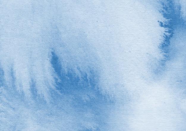 Acquerello blu sullo sfondo