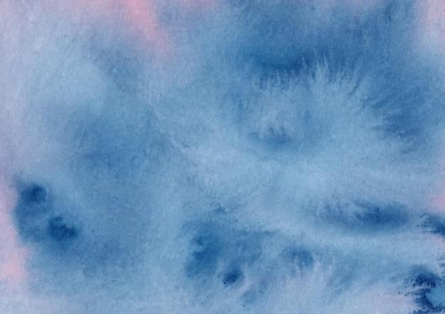 Sfondo blu acquerello