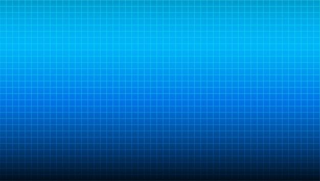 Ampio sfondo blu con sfumatura sfocata lineare proveniente dalla parte superiore della composizione e trama blu chiaro.