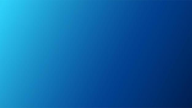 Ampio sfondo blu con sfumatura sfocata lineare proveniente dal bordo superiore sinistro della composizione.