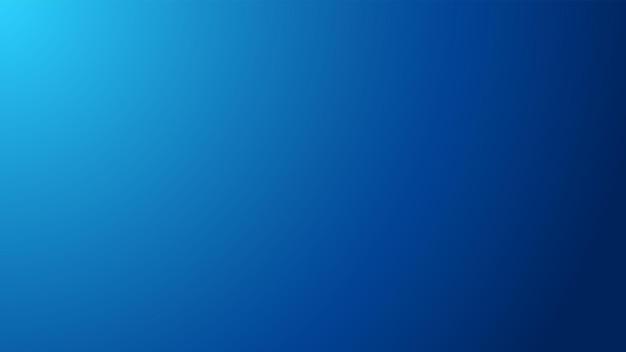 Ampio sfondo blu con sfumatura sfocata radiale proveniente dal bordo superiore sinistro della composizione.