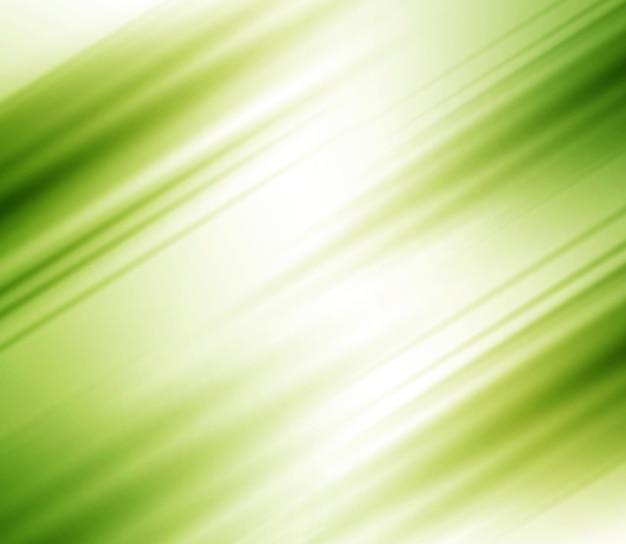 Sfocato sfondo astratto con strisce, colore verde Vettore Premium