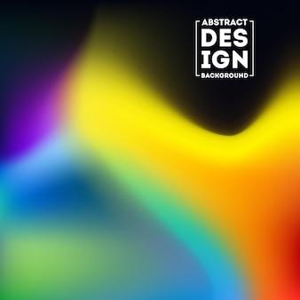Sfocato sfondo sfumato mesh in luminoso colorato liscio.
