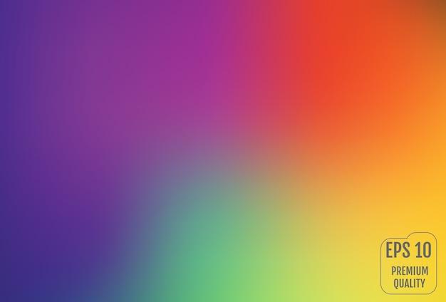 Sfocato sfondo sfumato a maglie in colori vivaci