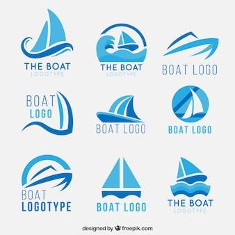 Loghi in barca