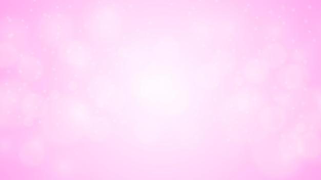 Sfondo bokeh con particelle luccicanti