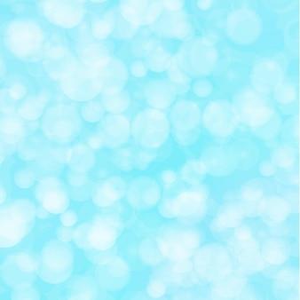 Sfondo blu bokeh. sfondo festivo scintillante. design per biglietti di auguri di natale. è luci sfocate. illustrazione vettoriale astratta.