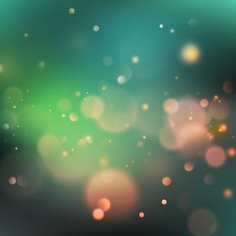 Bokeh effetto luce di sfondo.