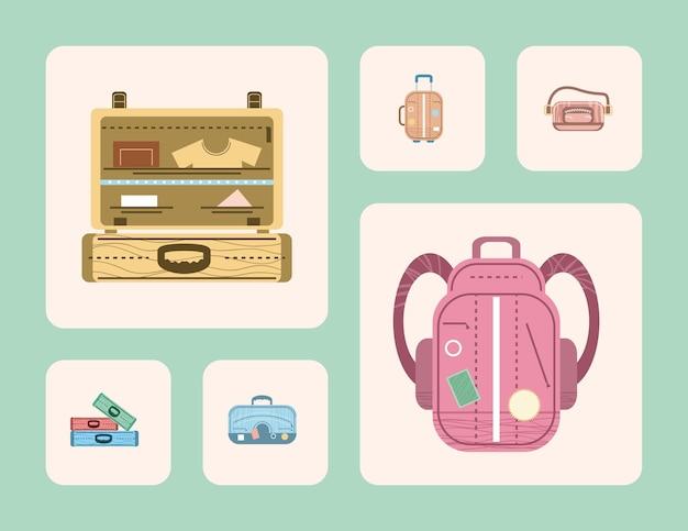 Set valigie buon viaggio