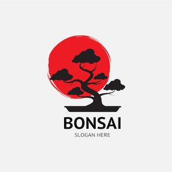 Bonsai albero giappone logo