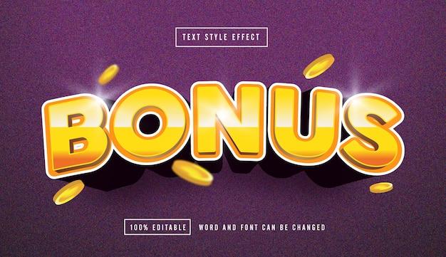 Effetto testo modificabile effetto testo oro bonus modificabile