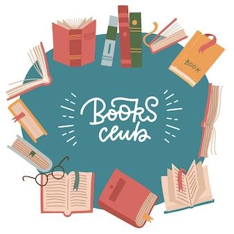 Festival del libro, club di lettura, giornata mondiale del libro.