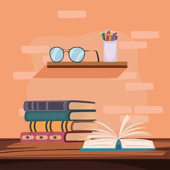 Libri in tavola