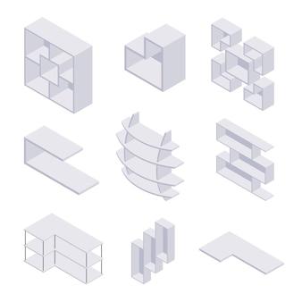 Scaffale isometrico