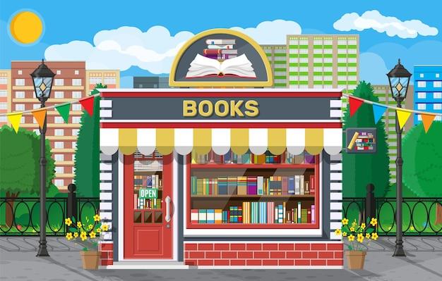 Libreria negozio esterno