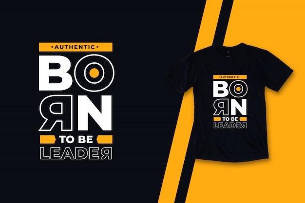 Nato per essere leader nel design moderno di t-shirt