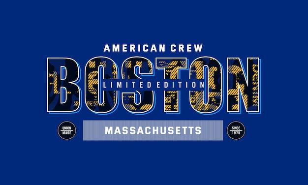 Grafica boston massachusetts