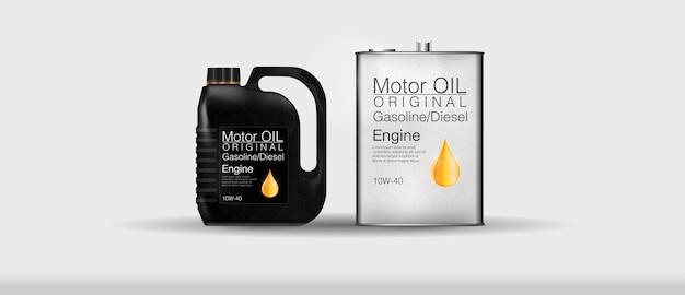 Bottiglia olio motore tanica di olio motore motore, protezione dalle molecole aderenti sintetiche.