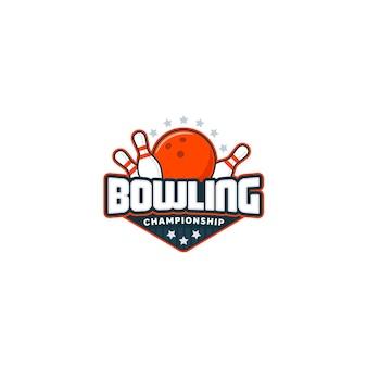Distintivo di bowling.