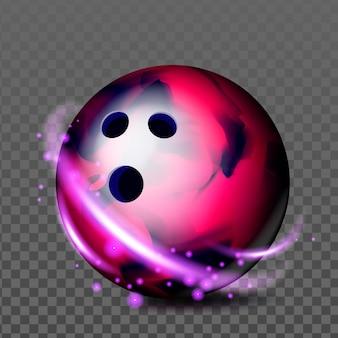 Accessorio gioco ricreativo palla da bowling vector