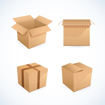 Icone di box e pacchetti