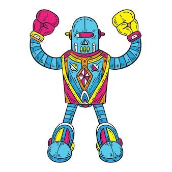 Robot da pugile