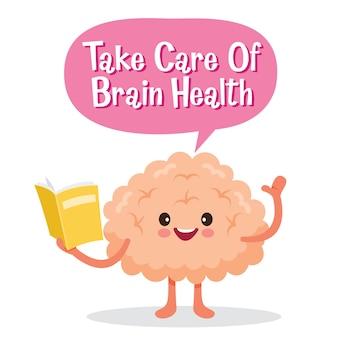 Cervello, organo interno umano, personaggio dei cartoni animati