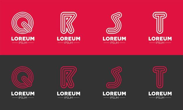 Brand letter logo design per le istituzioni educative
