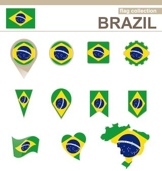 Collezione bandiera brasile, 12 versioni