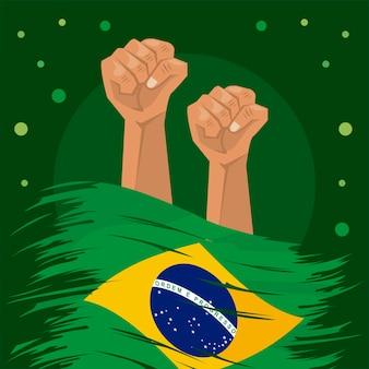 Celebrazione del giorno dell'indipendenza del brasile